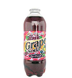 アイランドグレープソーダ 自販機オリジナル飲料